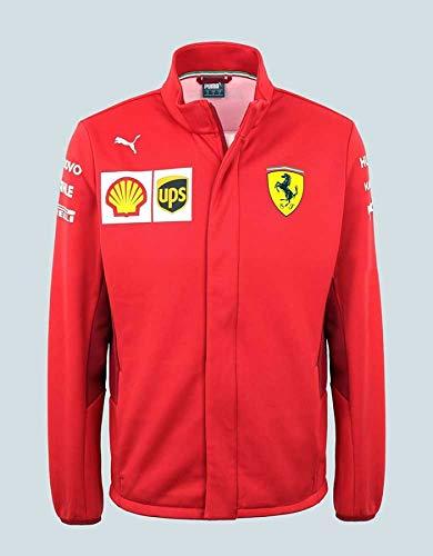 Ferrari Scuderia 2019 F1 Men's Team Softshell Jacket Red ()