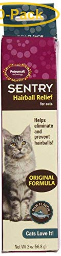 Sentry Petromalt Hairball Relief - Liquid Fish Flavor 2 oz - Pack of 10 by Sentry Industries Inc.