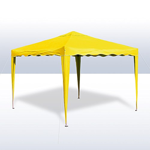 Alu/Metall Faltpavillon 3x3 Meter Gelb