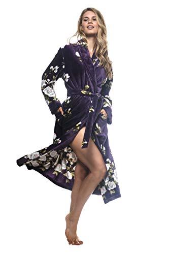 Cozy & Curious Women's Robe Sleepwear Bath Robe Soft Comfortable Spa Robe Loungewear House Robe for Women