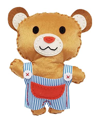 (Creative Kiddie Sewing Crafts for Kids Teddy Bear DIY Kit for Boys and Girls Ages 5 to 12)
