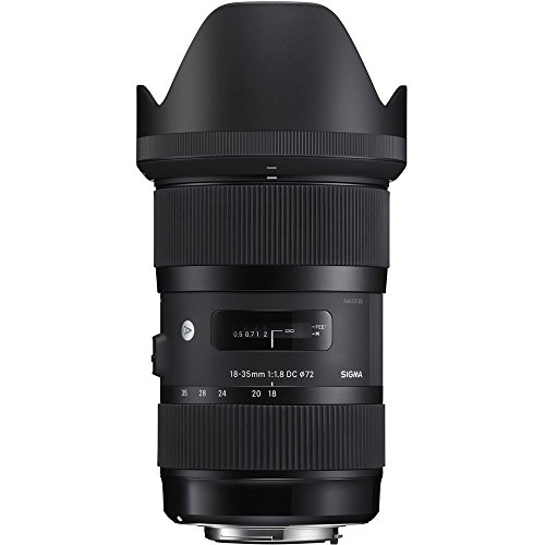 Sigma AF 18-35mm f/1.8 DC HSM Lens for Nikon (Certified Refurbished) by Beach Camera