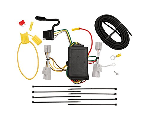 Tekonsha 118412 T-One Connector Assembly with Circuit Protected ModuLite Module (Rav4 Wiring Harness Trailer)