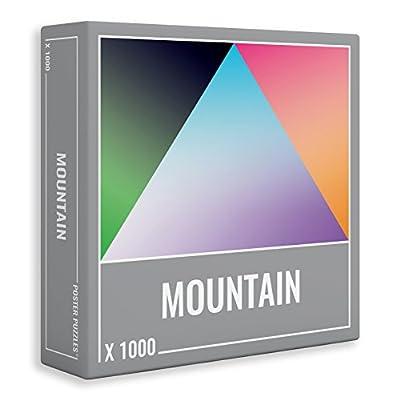 Cloudberries Mountain Puzzle Gradiente Da 1000 Pezzi