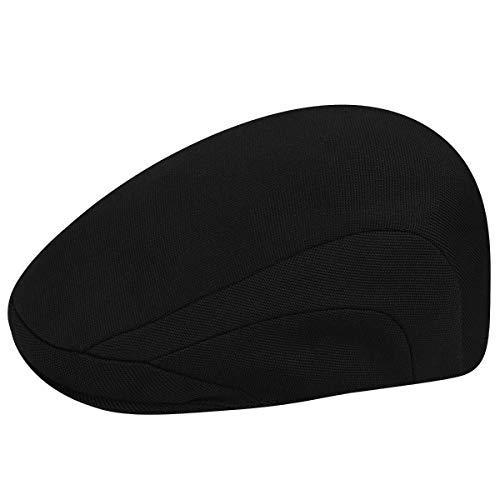 Ivy Cap Kangol - Kangol Men's Tropic 507 Hat - 6915Bc,Black,Medium