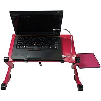 Amazon Com Hzmk Portable Adjustable Aluminum Laptop Stand