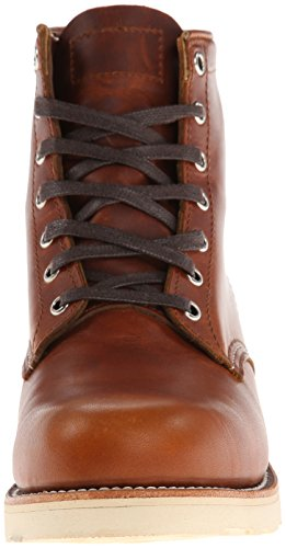 Collection Men's Original Chippewa Toe Tan Plain 6 Inch Renegade Boot 5ZfZBwnx