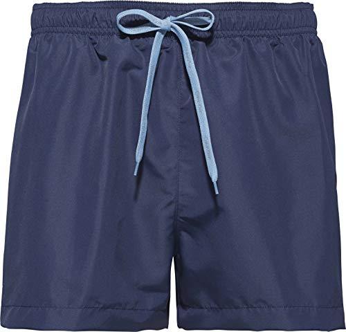Calvin Klein Short Drawstring Costume a Boxer, Ombra Blu, M Uomo