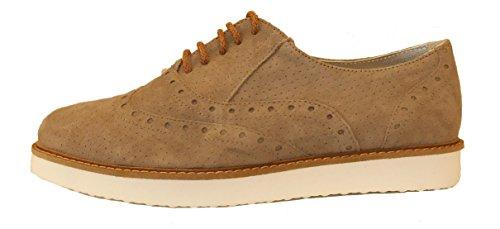 De Mujer Otra Cordones Piel Ippon Zapatos Vintage zqH0S0
