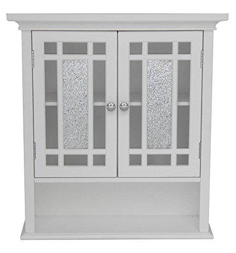 Elegant Home Fashions ELG-527 Whitney Wall Cabinet with 2 Doors and 1 Shelf by Elegant Home Fashions
