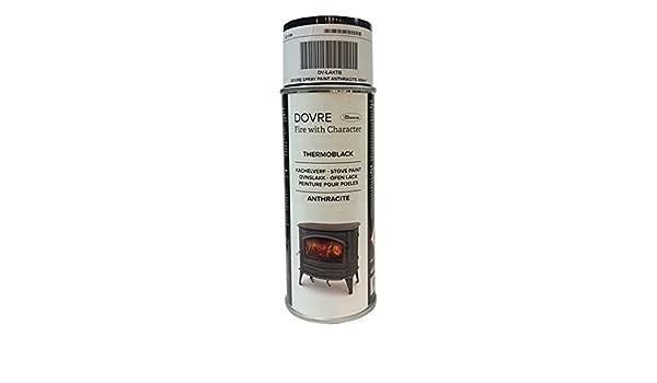 Dovre - gris Spray de pintura 400 ml (dv-laktb) estufa pintura: Amazon.es: Bricolaje y herramientas
