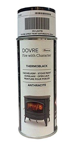 Dovre – gris Spray de pintura 400 ml (dv-laktb) estufa pintura