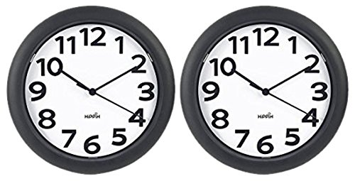 HIPPIH Silent Wall Clock Operated