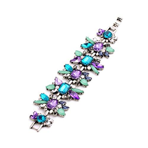 Fun Daisy Jewelry Vintage Multi Bead Retro Fashion Bracelet - sl00318