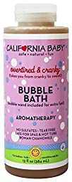 California Baby Overtired & Cranky Bubble Bath with Aromatherapy - 12 oz