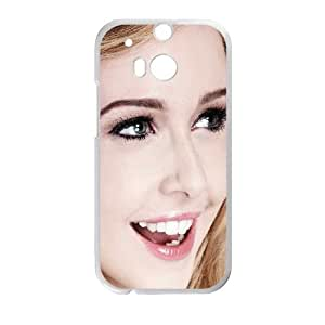 Celebrities Diana Vickers HTC One M8 Cell Phone Case White phone component RT_323428