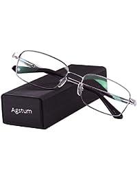 Titanium Full Rim Glasses Frame Optical Eyeglasses Rxable