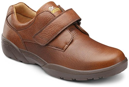 Dr. Comfort Mens William Chestnut Diabetic Casual Shoes