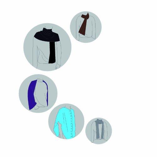 Lässig LTEX0203 - Estola para lactancia, color azul petróleo Talla:talla única viola