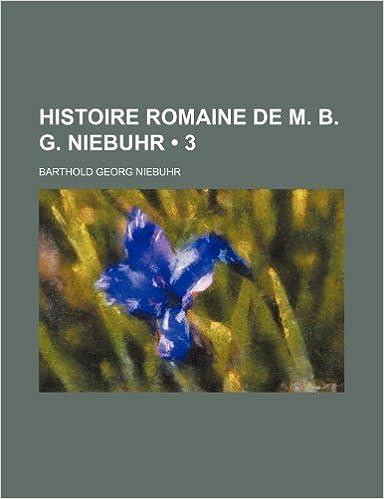 Book Histoire Romaine de M. B. G. Niebuhr (3)