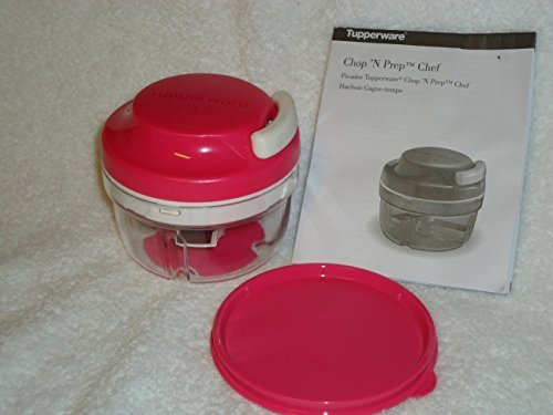 Tupperware Chop 'N Prep Chef in Salt Water Pink/Red by Tupperware