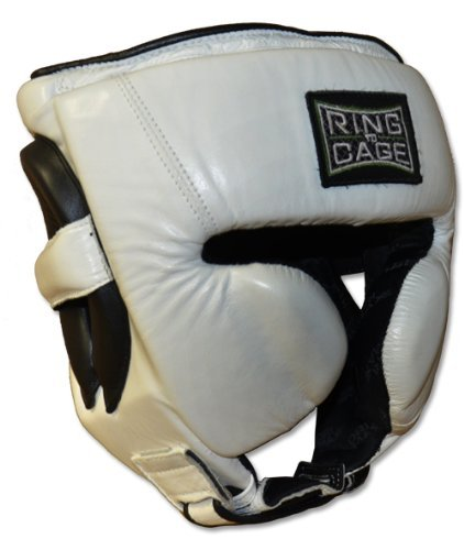 Mexican Style Sparring Headgear Leather 3.0 for Boxing, Muay Thai, MMA, Kickboxing (X-Large)