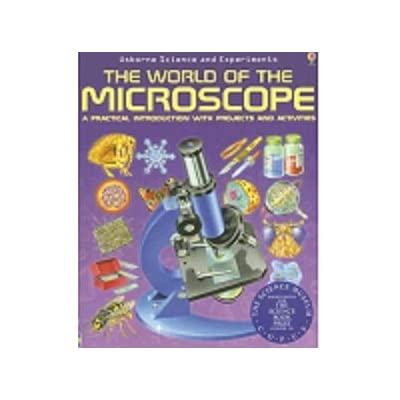 IQCREW by AmScope 20X-40X Kids LED Handheld Pocket Microscope + The World of The Microscope Book: Toys & Games