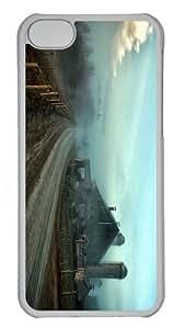custom covers foggy farmstead PC Transparent case for iphone 5C