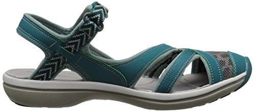 Keen Sage Ankle - Sandalias Mujer - negro 2016 Everglades/Mineral Blue