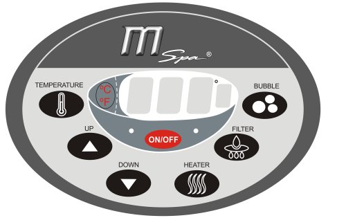 MSpa B-130 Camaro 4-Person Inflatable Spa with Smart Inflation