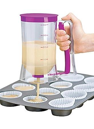 Cake Mix Measuring batter Dispenser Bake Pancake Muffin Baking Kitchen Tools