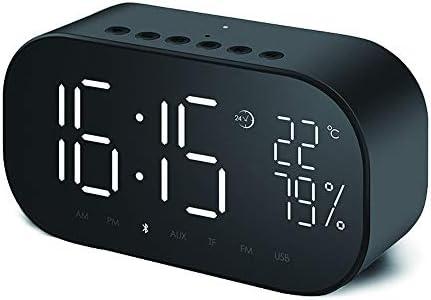 Reloj despertador Reloj despertador multifunción, LED Reloj ...