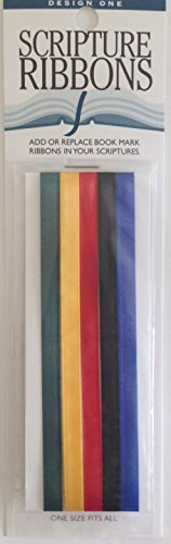 Design One Scripture Ribbons - Provides Bookmark/Quick Reference Tool (Multi)