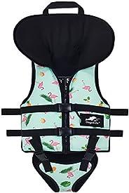 Gogokids Kids Swim Vest Children Life Jacket, Toddler Boys Girls Float Swimsuit