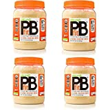 PBfit All-Natural Organic Peanut Butter Powder, 30 Ounce, Peanut Butter Powder from Real Roasted Pressed Peanuts, Good Source of Protein, Organic Ingredients (4 Pack (30 Ounce))