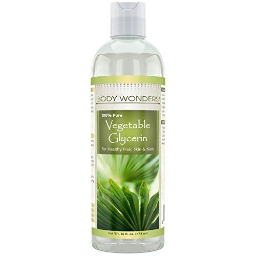 Glycerin Hair Care (Body Wonders Vegetable Glycerine - 16 fl oz (473 ml))