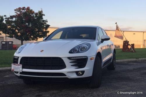Bumper Tow Hook License Plate Mount Bracket For Porsche Macan 2015 2016 Trunknets Inc