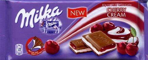 Milka Cherry Cream (100 g)