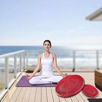 Dongdexiu Accesorios de Yoga Cojín de Equilibrio de Masaje ...