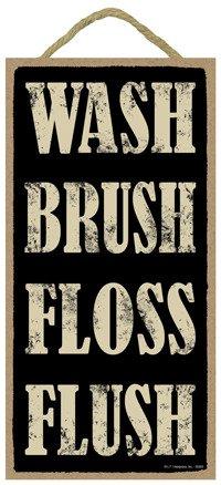 - SJT ENTERPRISES, INC. Wash Brush Floss Flush 5