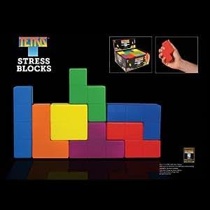 Tetris - Piezas de Tetris antiestrés (6 cm)