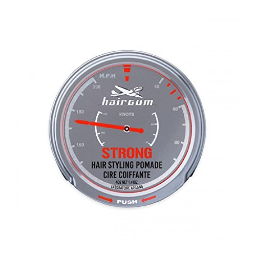 Hairgum Strong Hair Styling Pomade, 1.41 Ounce