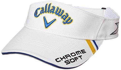 (キャロウェイ) Callaway 定番 ロゴ入り バイザー (ツアーモデル) 帽子 ゴルフ/247-7990500 < メンズ >