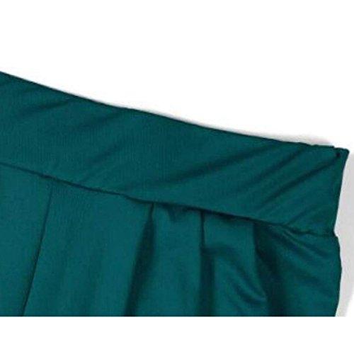 Gambali Grandi Corti Fang Legg Svago Di Del Piccola Letto Pantaloni Grasse Green Fattening Harem Persone tfBB7wq