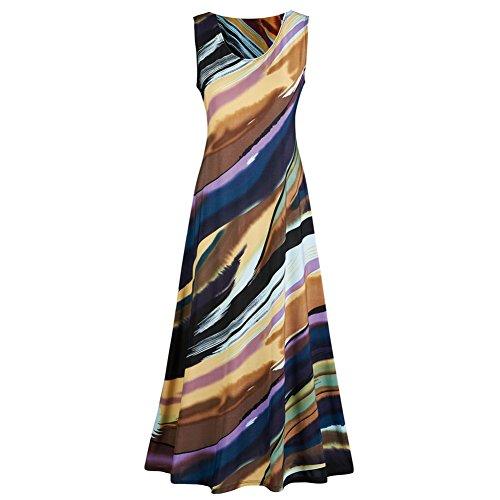 Womens Canyon Sleeveless Maxi Dress product image