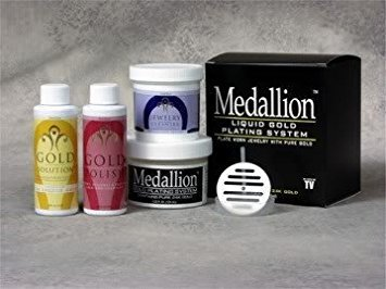 Amazon com: Medallion Liquid Gold Plating Kit: Home & Kitchen