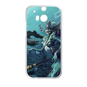 HTC One M8 phone case White nami league of legends DDD5309280