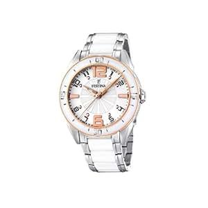 FESTINA F16396/1 - Reloj de mujer de cuarzo, correa de acero inoxidable color varios colores