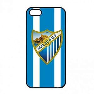 MáLaga Club De FúTbol Choque AbsorcióN Back Funda For iPhone 5/iPhone 5S, MáLaga Club De FúTbol Logo Claro Cubierta Del Caso, iPhone 5/iPhone 5S MáLaga Club De FúTbol Aegis Funda