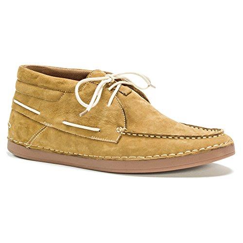 Muk Luks Hombres Hombres Chuck Zapatos Moda Sneaker Khaki